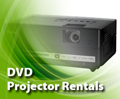 DVD Projector Rental