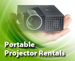 Portable Projector Rental