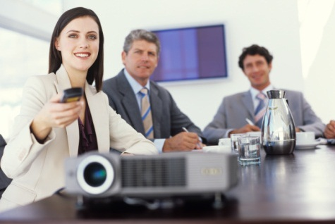 Business Presentation Projector Rental