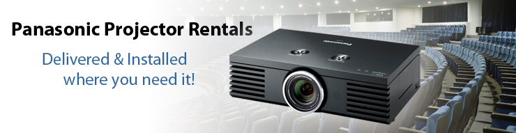 Panasonic Projector Rentals for Business Meetings