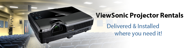 Viewsonic Projector Rentals for Business Meetings